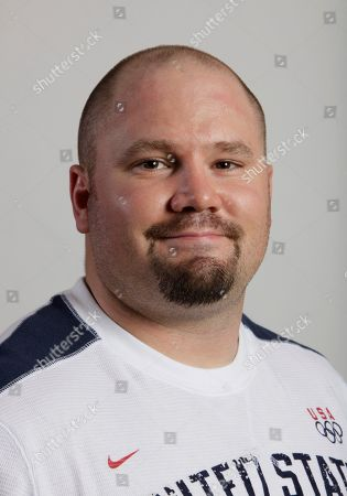 Steve Holcomb Bobsled competitor Steve Holcomb poses for a portrait during the USOC Media Summit in Chicago