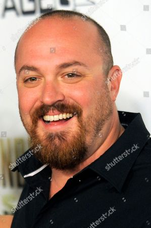 "Troy Duffy Troy Duffy, writer/director of ""The Boondock Saints II: All Saints Day,"" poses at the premiere of the film in Los Angeles"