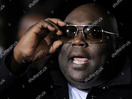 """Faizon Love Faizon Love, a cast member in """"Couples Retreat,"""" arrives at the premiere of the film in Los Angeles"""
