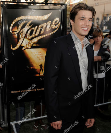 """Paul McGill Actor Paul McGill arrives at the premiere of the film """"Fame"""" in Los Angeles"""