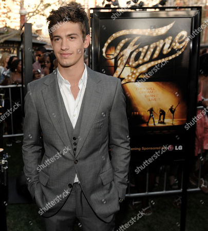 """Asher Book Actress Asher Book arrives at the premiere of the film """"Fame"""" in Los Angeles"""