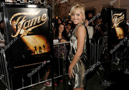"Kherington Payne Kherington Payne, a cast member in the new film ""Fame,"" arrives at the premiere of the film in Los Angeles"