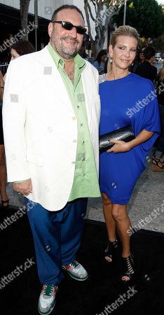 """Joel Silver, Karyn Fields Joel Silver, left, and Karyn Fields arrive at the premiere of """"Orphan"""" in Los Angeles on"""