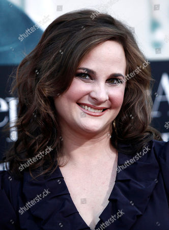 """Stock Image of Julie Powell Julie Powell arrives at the premiere of """"Julie and Julia"""" in Los Angeles on"""