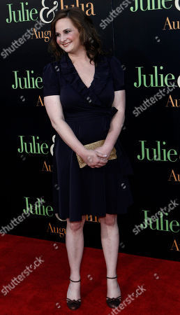 """Julie Powell Julie Powell arrives at the premiere of """"Julie and Julia"""" in Los Angeles on"""