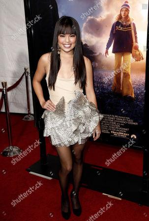 """Nikki Soohoo Nikki Soohoo arrives at the premiere of """"The Lovely Bones"""" in Los Angeles on"""
