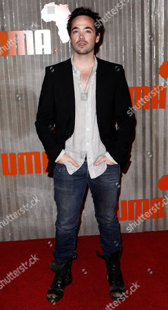 Stock Image of John Hensley John Hensley arrives at Puma's African Bazaar event in Los Angeles on