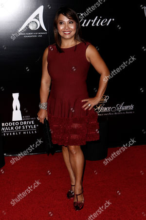 Taryn Rose Designer Taryn Rose arrives at the Rodeo Walk of Style Award ceremony in Beverly Hills, Calif