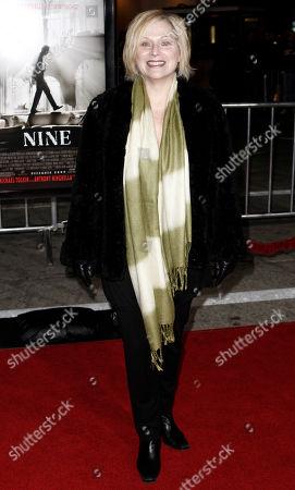 "Roslyn Kind Roslyn Kind arrives at a screening of ""Nine"" in Los Angeles on"