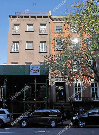 A unit in the building at left in this photo made in New York City, is believed to be the home of Rachel Uchitel, who is reported to be in a romantic relationship with PGA Champion Tiger Woods