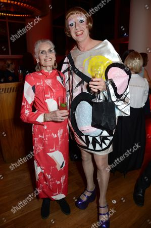 Daphne Selfe and Grayson Perry