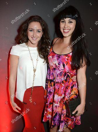 Stock Photo of Natasha Corrett and Melissa Hemsley