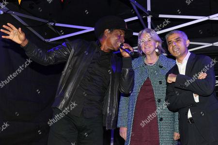 Editorial image of Sadiq Khan visit to Brixton, London, UK - 17 Oct 2016