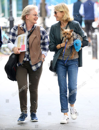 Editorial image of Naomi Watts out and about, New York, USA - 17 Oct 2016