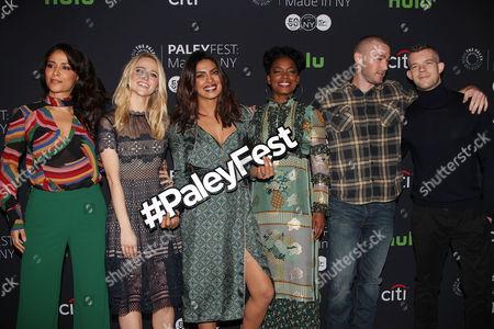 Yasmine Al Massri, Johanna Braddy, Priyanka Chopra, Aunjanue Ellis, Jake McLaughlin and Russell Tovey