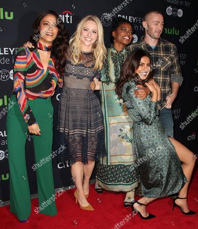 Yasmine Al Massri, Johanna Braddy, Priyanka Chopra, Aunjanue Ellis and Jake McLaughlin