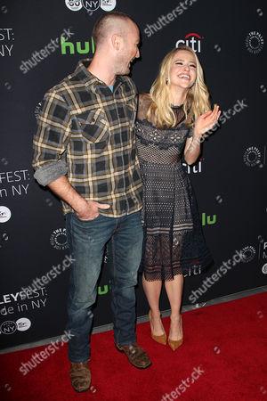 Jake McLaughlin and Johanna Braddy