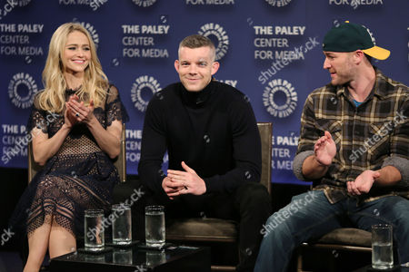 Johanna Braddy, Russell Tovey and Jake McLaughlin