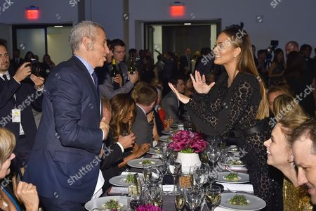 Danny Meyer and Chrissy Teigen