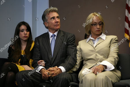 Meghan Walsh, John Walsh, Reve Walsh Adam Walsh, his daughter, Meghan, left, and his wife, Reve listen to the police chief during a press conference in Hollywood, Fla. where it Floroida police announced the conclusion of the investigation into the death of the Walsh's son, Adam, who was abdected and killed in 1981