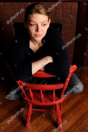 Amber Benson Actress and novelist Amber Benson poses for a portrait in Los Angeles