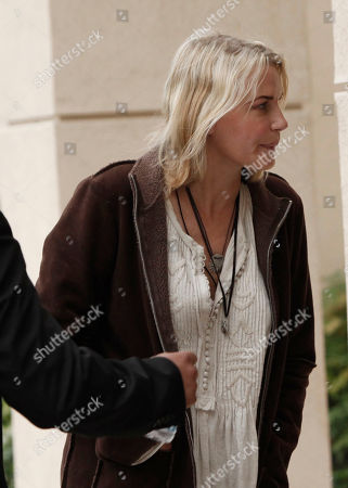 Daryl Hannah Actress Daryl Hannah arrives at the funeral of David Carradine, in Los Angeles