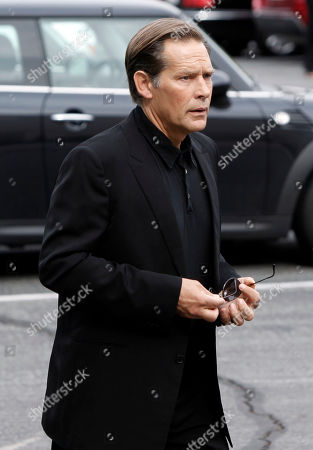 James Remar Actor James Remar arrives at the funeral of David Carradine, in Los Angeles