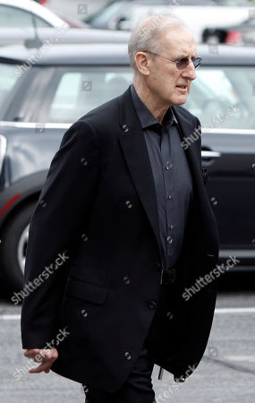 James Cromwell Actor James Cromwell arrives at the funeral of David Carradine, in Los Angeles