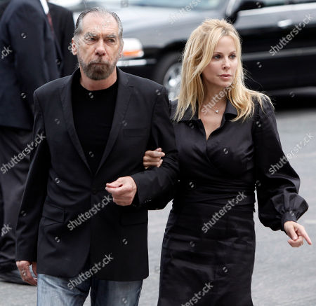 John Paul Jones DeJoria, Eloise Broady John Paul Jones DeJoria, left, and Eloise Broady arrive at the funeral of David Carradine, in Los Angeles