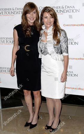 Jane Seymour, Katie Flynn Actress Jane Seymour, right, and her daughter, Katie Flynn, arrive at the 4th Annual Christopher and Dana Reeve Foundation Gala in Beverly Hills, Calif. on