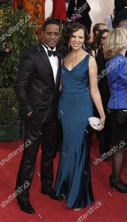 Blair Underwood, Desiree DaCosta Blair Underwood and wife Desiree DaCosta arrive at the 66th Annual Golden Globe Awards, in Beverly Hills, Calif