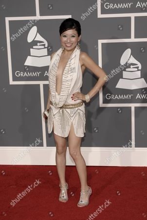 Adrienne Lau Adrienne Lau arrives at the 51st Annual Grammy Awards, in Los Angeles
