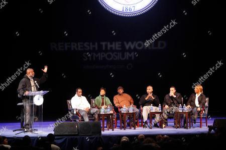 Editorial picture of Hip Hop Symposium, Washington, USA