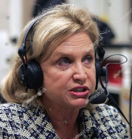 Carolyn Maloney Rep. Carolyn Maloney, D-N.Y., speaks during a radio talk show in Albany, N.Y. Maloney faces a feisty primary challenge from attorney Reshma Saujani in the Sept. 14, 2010, New York Democratic primary