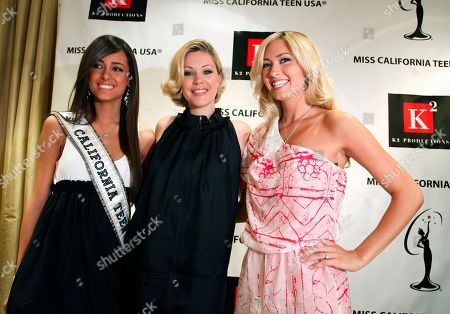 Chelsea Gilligan, Shanna Moakler,Tami Farrell Chelsea Gilligan, Miss California Teen USA 2009, left, and first runner up Miss California USA 2009, Tami Farrell, right, pose for a photo with Miss California USA Pageant co-executive director Shanna Moakler, center, at a news press conference in Beverly Hills, Calif. on