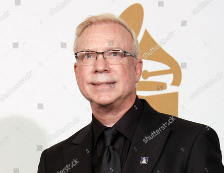 """Gary Burton Vibraphonist Gary Burton poses backstage with his award for Best Jazz Instrumental Album, Individual or Group for """"The New Crystal Palace"""" at the 51st Annual Grammy Awards in Los Angeles. Burton, along with saxophonists Archie Shepp and Pharoah Sanders are the newest recipients of the 2016 Jazz Masters honors. The awards will be presented on at a concert at the Kennedy Center"""