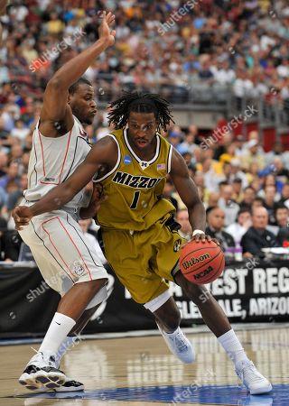 Editorial image of NCAA Missouri Connecticut Basketball, Glendale, USA