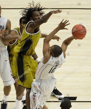 Editorial photo of NCAA Missouri Connecticut Basketball, Glendale, USA