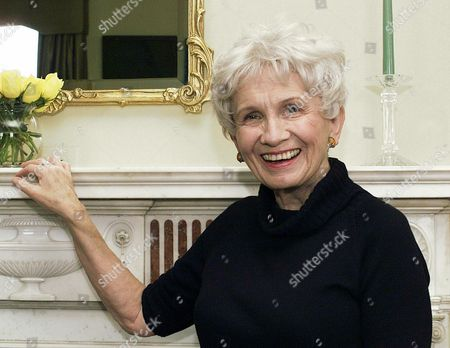 "Alice Munro Canadian author Alice Munro poses for a photograph at the Canadian Consulate's residence in New York. Munro has won this year's Nobel Prize in literature it was announced . The Swedish Academy, which selects Nobel literature winners, called her a ""master of the contemporary short story"