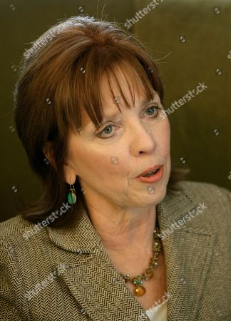 Stock Image of Nora Roberts Romance novelist Nora Roberts talks about the newly renovated hotel she is opening, in Boonsboro, Md