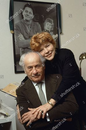 Eli Wallach and his wife Anne Jackson pose in their New York apartment. Jackson, a Tony Award-nominated theater actress who often appeared onstage with Wallach, died of natural causes at her home in Manhattan, . She was 90