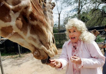 """Donna Douglas Donna Douglas, who starred in the television series """"The Beverly Hillbillies"""" tours the Audubon Zoo in New Orleans. Douglas, who played the buxom tomboy Elly May Clampett on the hit 1960s sitcom has died. Douglas, who was 82, died, in Baton Rouge, where she lived, her niece, Charlene Smith, said"""