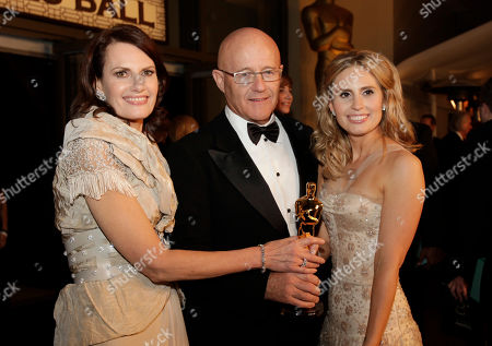 Kim Ledger, Sally Bell, Kate Ledger Heath Ledger's mother Sally Bell, from left, father Kim Ledger and sister Kate arrive at the Governors Ball following the 81st Academy Awards, in the Hollywood section of Los Angeles