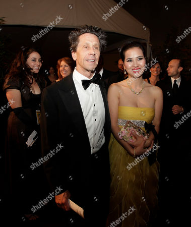Chau-Giang Thi Nguyen, Brian Grazer Chau-Giang Thi Nguyen, right, and producer Brian Grazer arrive at the Governors Ball following the 81st Academy Awards, in the Hollywood section of Los Angeles