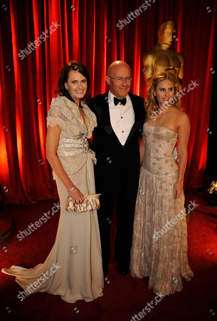 Ines Ledger, Kate Ledger, and Kim Ledger The Family of the late actor Heath Ledger, from left, Ines Ledger, Kate Ledger, and Kim Ledger arrive at the 81st Academy Awards, in the Hollywood section of Los Angeles