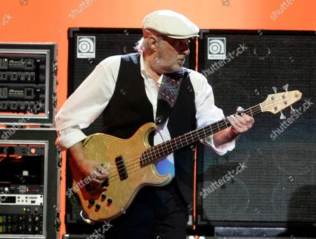 "Stock Image of John McVie Fleetwood Mac bass player John McVie performing on tour in Pittsburgh, Pa. Fleetwood Mac is canceling planned performances in Australia and New Zealand as McVie is treated for cancer. Band members Mick Fleetwood, Stevie Nicks and Lindsay Buckingham said in a statement that they're sorry to cancel the 14 show dates and hope ""fans everywhere will join us in wishing John and his family all the best"
