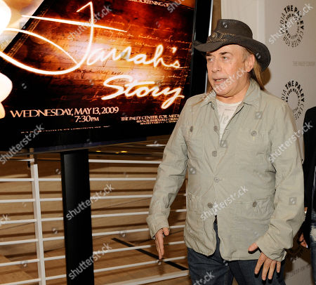 """Jose Eber Actress Farrah Fawcett's former hair stylist Jose Eber arrives for the world premiere screening of the NBC documentary """"Farrah's Story"""" in Beverly Hills, Calif., . The feature-length documentary chronicles Fawcett's two-and-a-half-year battle with cancer"""