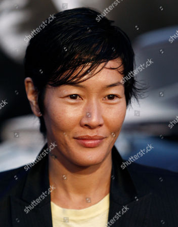 """Jenny Shimizu Jenny Shimizu arrives at the premiere of """"Fast & Furious"""" in Los Angeles on"""