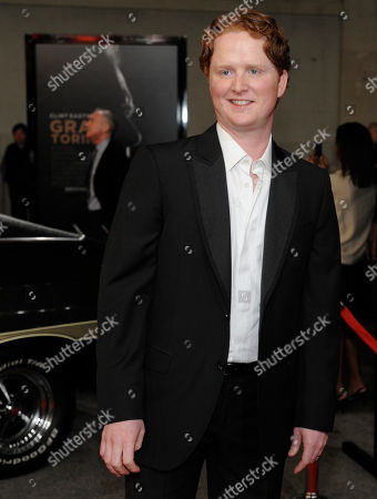"Christopher Carley Gran Turino"" cast member Christopher Carley poses at the premiere of the film at Warner Bros. Studios in Burbank, Calif"