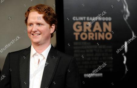 "Christopher Carley Gran Turino"" cast member Christopher Carley poses at the premiere of the film at Warner Bros. Studios in Burbank, Calif"
